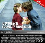 七夕节送女友 500元以下有新意的礼物