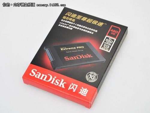 闪迪至尊超极速SSD评测-包装细节