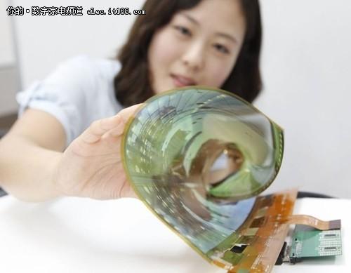 LG推出卷屏面板:18英寸卷后半径只有3cm