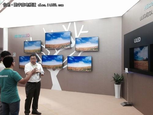 海信tc2910uf型电视机黑屏故障(有时能打开,图像却拉长),是否总线有