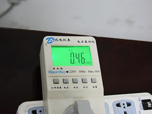 制冷、制暖与功耗测试