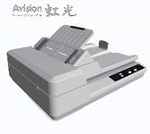 虹光A4幅面双面双平台扫描仪AH640特卖