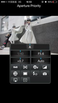 手机遥控拍摄 可变焦可调节拍摄参数