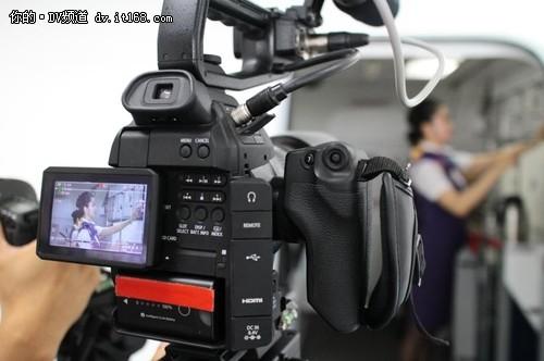 用EOS C100记录光明顶上的空姐风姿