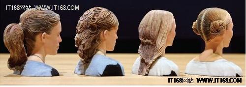 3D打印新思路:迪士尼能打印人的发型
