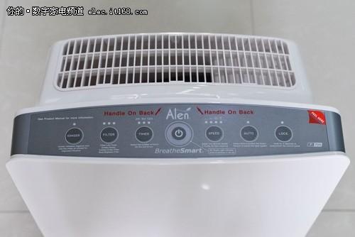 美国Alen空气净化器评测:空气质量测试