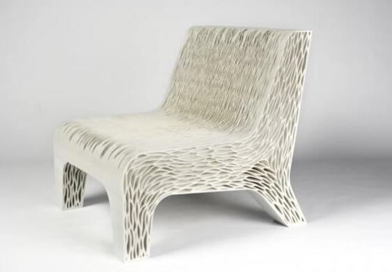 酷设计:模拟植物细胞形态的3d打印椅子