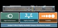 瞻博网络发布高可用性园区分布式交换机