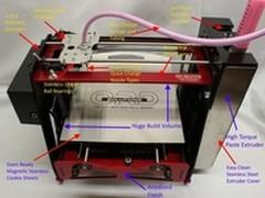 吃货新技能:打印糊状材料食物3D打印机