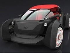 时速64公里 首台3D打印电动汽车Strati