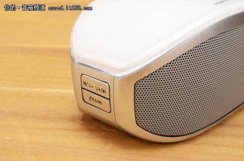 月光宝盒外形 卡农I-608蓝牙音箱评测