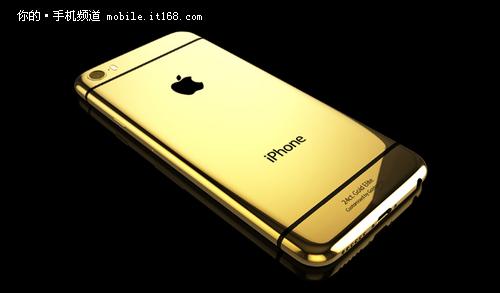 售价超2万元 纯金版iPhone 6曝光