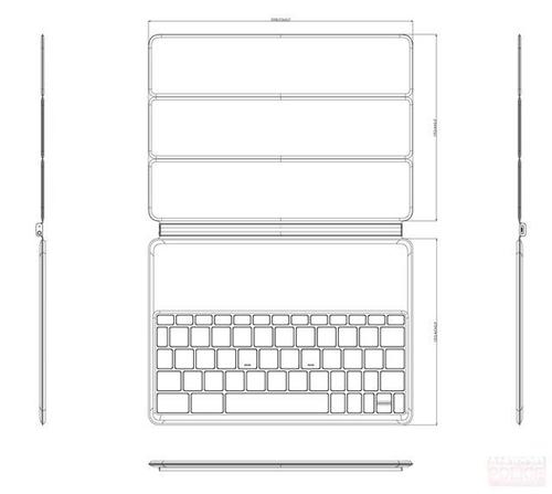 Nexus9更多消息曝光 配官方键盘保护壳