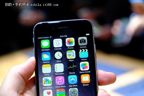 多大?iPhone 6机身尺寸横向对比