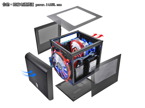 个性水冷迷你小箱  Tt Core V1仅售249