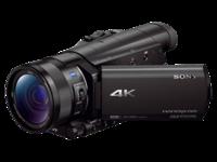 4K入门机 索尼FDR-AX100E摄像机14399元