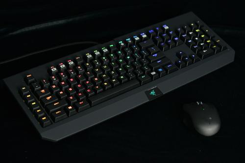 彩色灯机械键盘方案对比