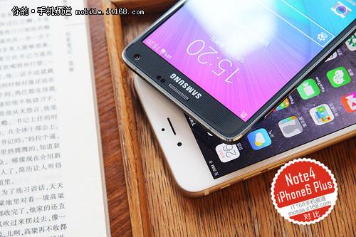 大屏旗舰 三星Note4对比iPhone 6 Plus