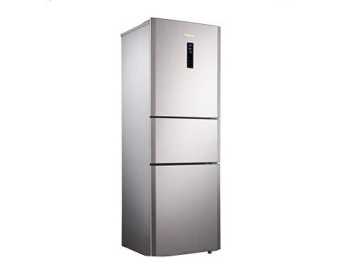 家用首选 海信211升电脑三门冰箱1699元
