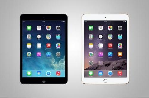 苹果你真懒 iPad mini3对比iPad mini2