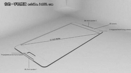 红膜识别+4GB 三星Galaxy S6曝光
