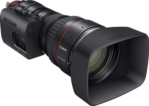 佳能新CINE-SERVO镜头 世界最长焦距