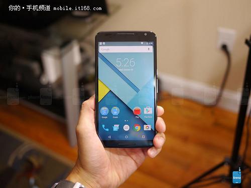 谷歌Nexus 6开箱照抢先看 预售缺货