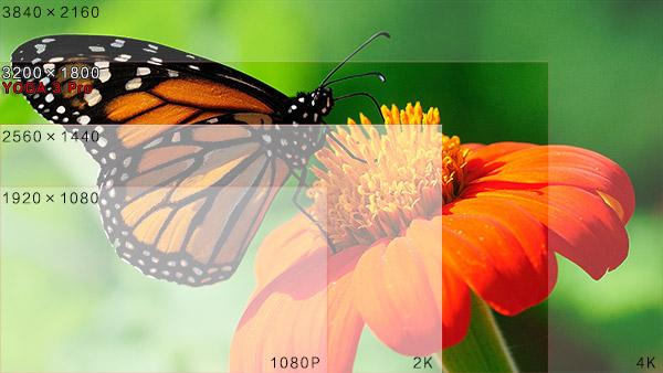 超清屏幕画面细腻 广视角面效果出色