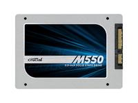 狂降100 英睿达 M550 256G SSD仅1227.5