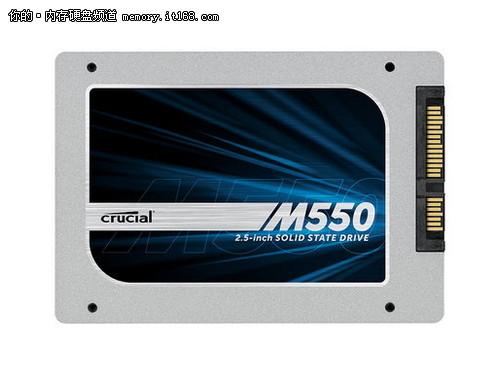 立减100 英睿达M550 256G SSD 低至1188
