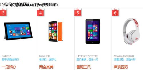 中端机价位 Lumia 930促销新低价