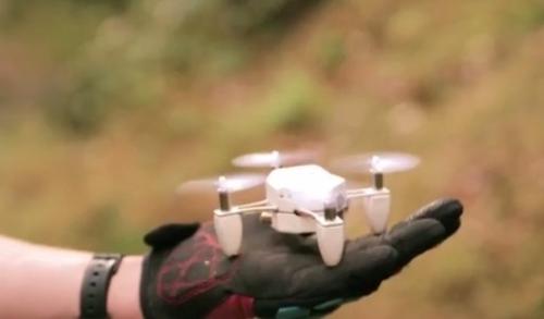 视频:ZANO掌上遥控航拍机景物实拍