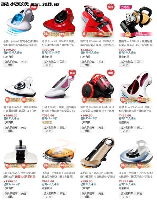 7款电商热销除螨机横评-基本概述&产品