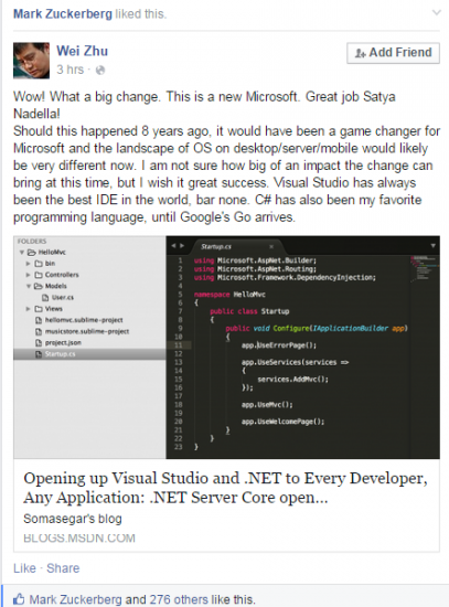.Net开源是进步 但短期超过Java不现实