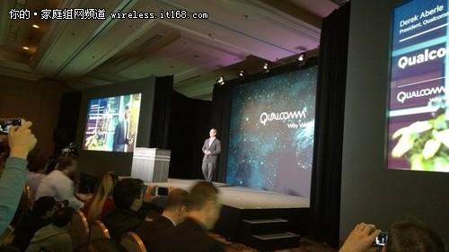 CES 2015 Qualcomm秋季将推出802.11ad