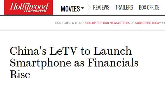外媒称乐视超级手机 内容优势是杀手锏