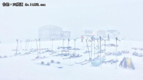 佳能EOS C300访谈 挑战极速冰雪运动
