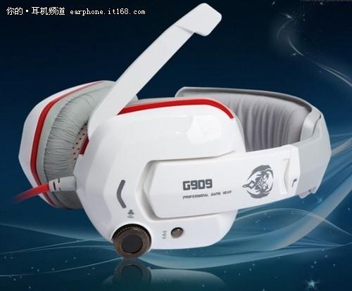 """""""震""""撼低音 硕美科G909游戏耳机售259"""