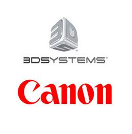 3DSystems结盟佳能 拓展欧洲3D打印市场