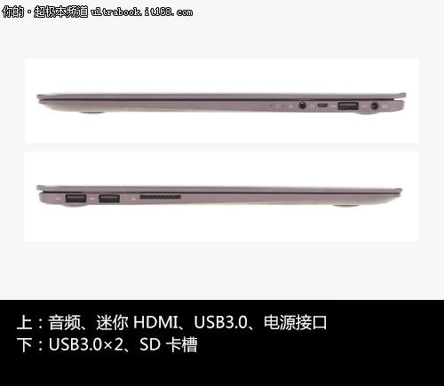 U305超极本的操作设计