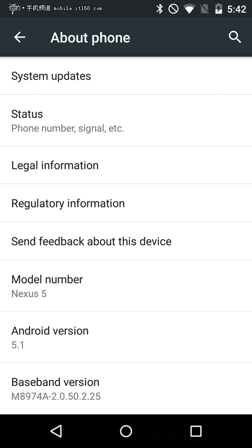 上手体验 安卓5.1官方底包已放出