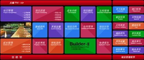 速达天耀PM软件智能化管理企业项目