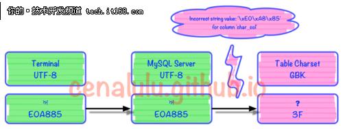 10分钟学会理解和解决MySQL乱码问题