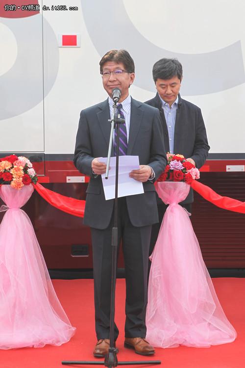 中国首辆 索尼4K电视转播车落户江苏台