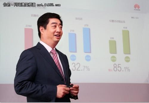 华为2014营收2882亿元 企业业务增27.3%