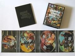 人都癫了!《侠盗猎车5》PC版7张光盘