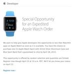 苹果失约 开发者的Apple Watch无法送达