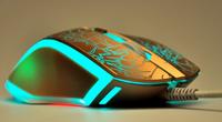 雷柏V20游戏鼠标2015土豪金烈焰版上市