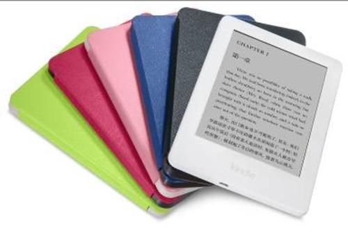 首款白色Kindle电子书阅读器中国发预售