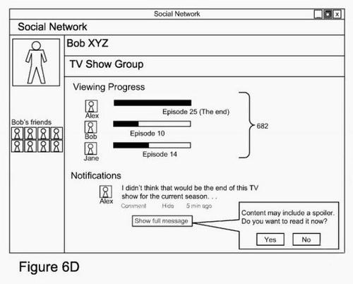 谷歌申超接地气专利:网络剧透屏蔽系统